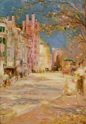 Art Prints of Boston Street Scene, Boston Common by Edward Mitchell Bannister