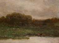 Art Prints of Summer Twilight by Edward Mitchell Bannister