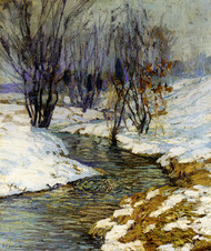 Art Prints of Winter Afternoon by Edward Redfield