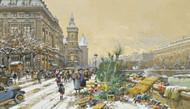Art Prints of Flower Wharf by Eugene Galien-Laloue