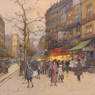 Art Prints of Porte Saint Martin by Eugene Galien-Laloue