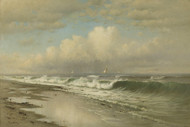 Art Prints of Afternoon, Long Beach by Francis Augustus Silva