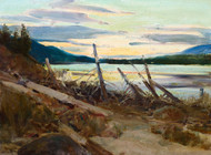 Art Prints of At Dawn by Frank Tenney Johnson