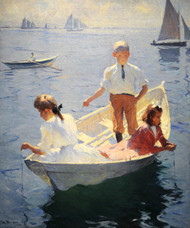 Art Prints of Calm Morning by Frank Weston Benson