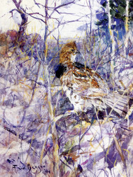 Art Prints of Camouflage by Frank Weston Benson