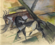 Art Prints of Horses and Cattle by Franz Marc
