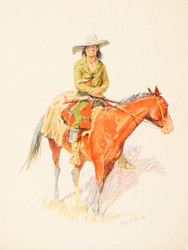 Art Prints of Old Ramon by Frederic Remington