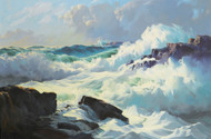 Art Prints of Breaking Surf by Frederick Judd Waugh