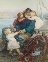 Art Prints of Which do You Love Best? by Frederick Morgan