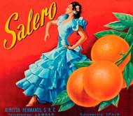 Art Prints of |Art Prints of 065 Salero Citrus, Fruit Crate Labels