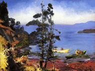 Art Prints of |Art Prints of Evening Blue by George Bellows