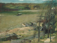 Art Prints of Up the Hudson by George Bellows