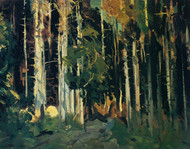 Art Prints of Through the Trees, Maine, 1913 by George Bellows