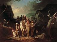 Art Prints of Daniel Boone Escorting Settlers, Cumberland Gap by George Caleb Bingham