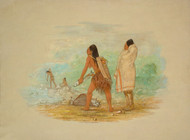 Art Prints of Flathead Indians by George Catlin