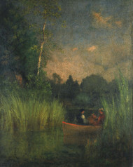 Art Prints of Dusk in the Rushes by George Inness