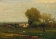 Art Prints of The Old Aquaduct, Campagna, Italy by George Inness