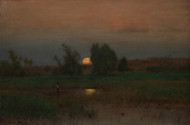 Art Prints of Moonrise by George Inness