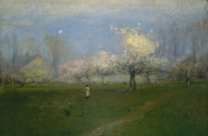 Art Prints of Spring Blossoms, Montclair, New Jersey by George Inness