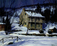 Art Prints of January Night by George Sotter