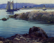 Art Prints of Low Tide Rockport, Maine by George Sotter
