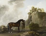 Art Prints of Marquess of Rockingham's Arabian Stallion by George Stubbs