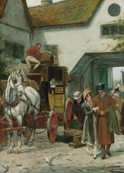 Art Prints of The Arrival by George Wright