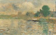 Art Prints of Berge de la Seine by Georges Seurat