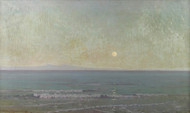 Art Prints of Quiet Moonlight Beyond Catalina Island by Granville Redmond