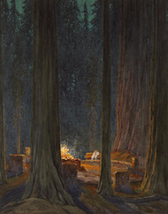 Art Prints of Bohemian Grove by Gunnar Widforss