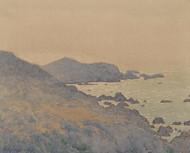 Art Prints of California Coast by Gunnar Widforss