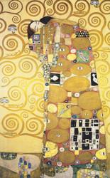 Art Prints of Fulfillment by Gustav Klimt