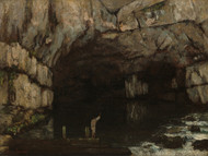 Art Prints of The Grotto of the Loue by Gustave Courbet