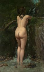 Art Prints of La Font by Gustave Courbet