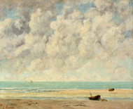 Art Prints of The Calm Sea by Gustave Courbet