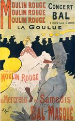 Art Prints of Moulin Rouge la Goulue by Henri de Toulouse-Lautrec
