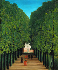 Art Prints of The Avenue in the Park at Saint Cloud by Henri Rousseau
