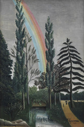 Art Prints of The Lake of Daumesnil by Henri Rousseau