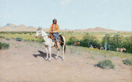 Art Prints of Camp in the Foothills, 1895 by Henry Farny