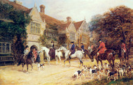 Art Prints of Meet at the Manor by Heywood Hardy