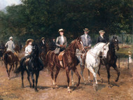 Art Prints of The Morning Ride, 1900 by Heywood Hardy