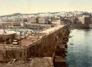 Art Prints of The Harbor from the Lighthouse, Algiers, Algeria (387062)