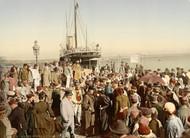 Art Prints of Disembarking from a Ship, Algiers, Algeria (387087)