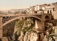 Art Prints of Great Bridge, Constantine, Algeria (387122)