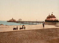 Art Prints of The Pier, Blankenberghe, Belgium (387146)