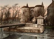 Art Prints of Ghent Gate, Bruges, Belgium (387156)
