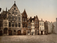 Art Prints of The Library, Bruges, Belgium (387154)