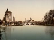 Art Prints of Le Lac d'Amour, Bruges, Belgium (387159)