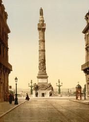 Art Prints of Column of Congress, Brussels, Belgium (387176)