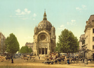 Art Prints of St. Augustine Church, Paris, France (387437)